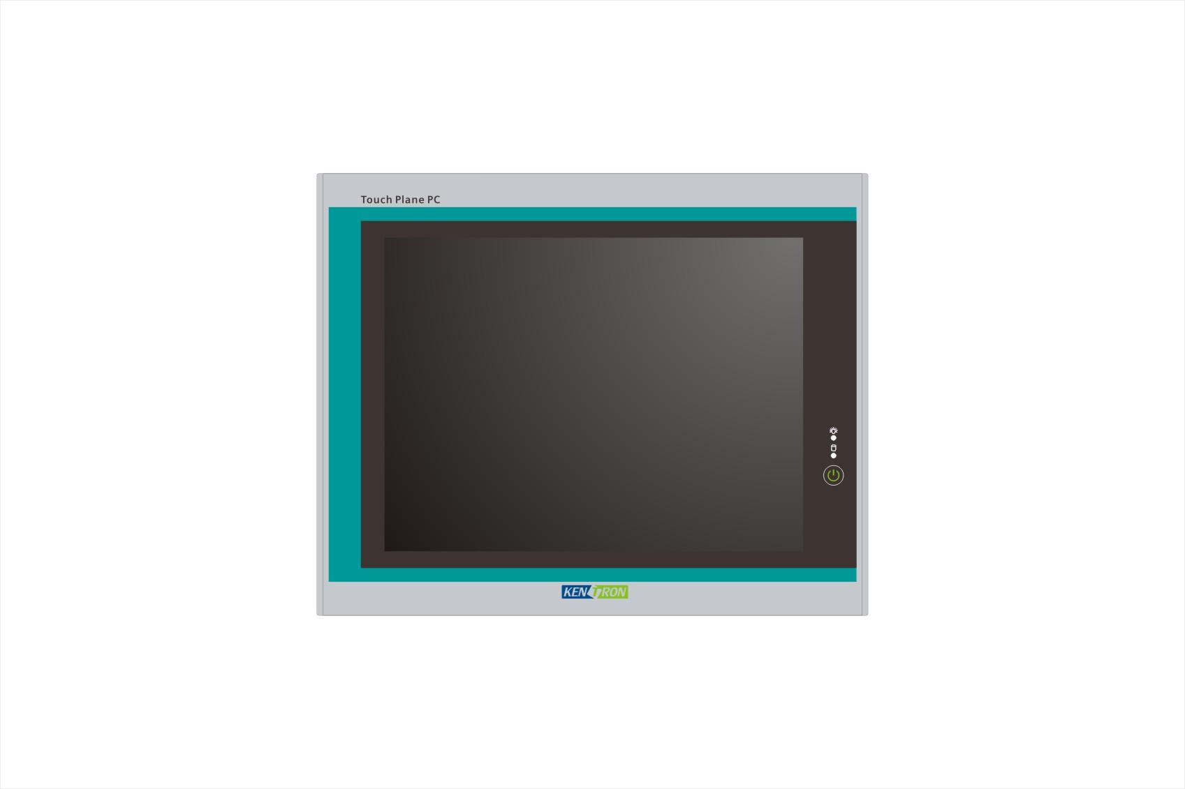 10.4寸windows系统工业平板工控机