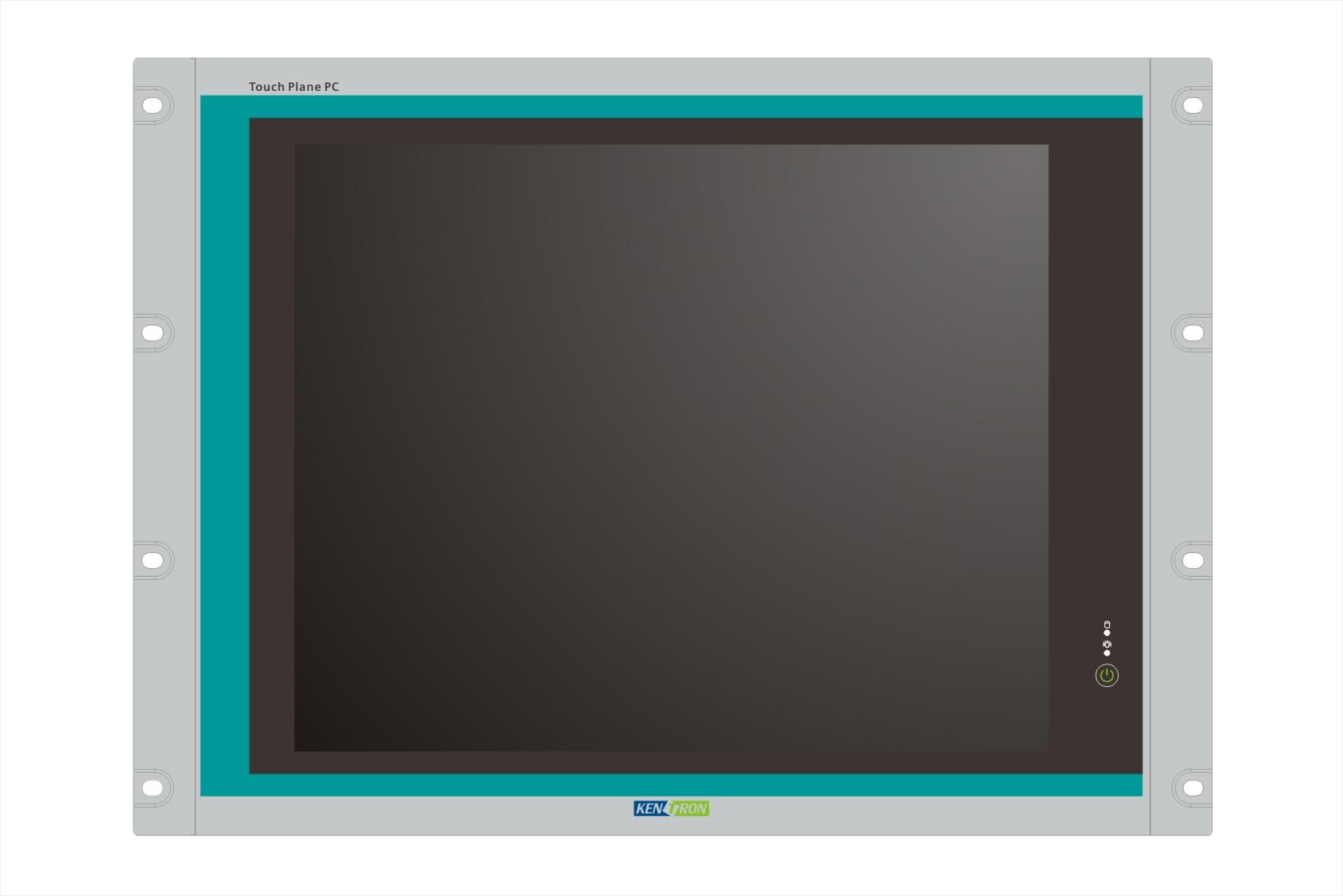 17寸上架式触摸工控机-工业平板计算机