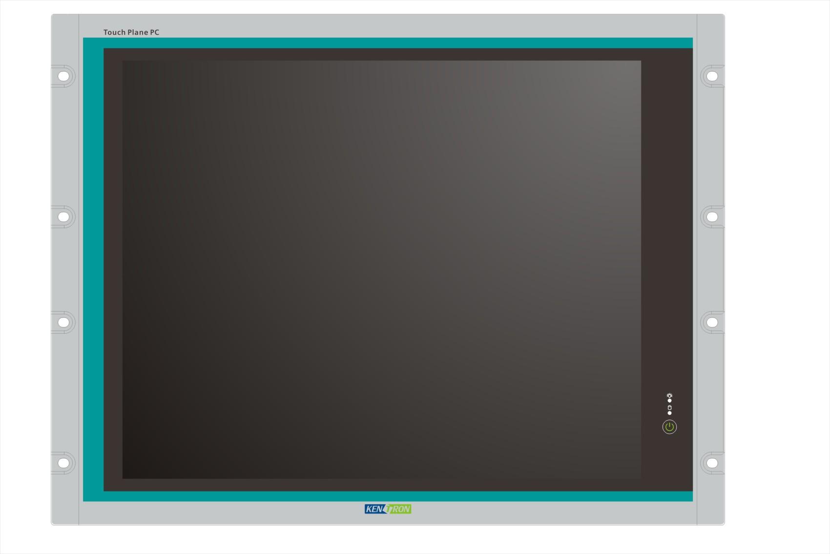 19寸上架式高性能工业平板电脑