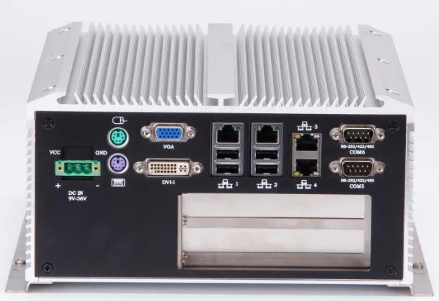 隔离型双PCI/pcie扩展无风扇工控机